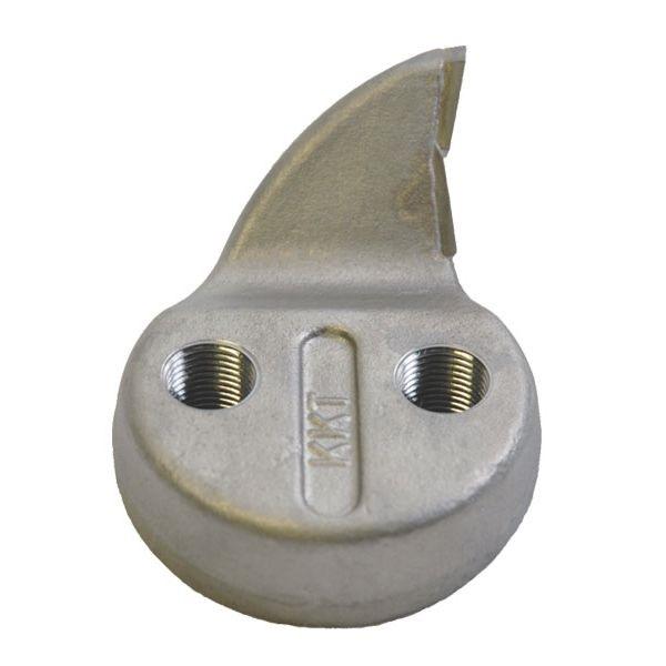 Dłuto z podwójnym ostrzem węglikowym (tylko na wygiętych czubkach) 39 mm